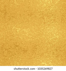 Gold foil seamless texture, golden vintage background