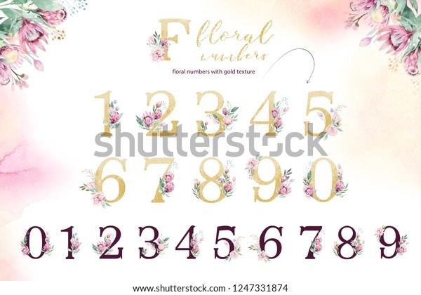 Gold Glitter Letter Alphabet Isolated Golden Stock Illustration