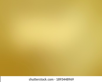 gold gradient abstract background. Golden polish metal with soft glowing backdrop illustration texture for new year, christmas, Chinese New Year, valentine, event, festival