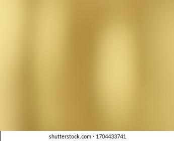 Gold gradient abstract background. Yellow luxury smooth light glowing 3D illustration backdrop for christmas, Chinese New Year, Valentine, Happy New Year, Black Friday Super Sale, Buddhist template