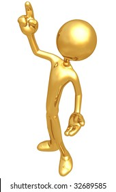 Gold Guy Gesture