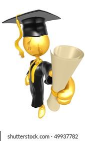 Gold Guy Graduate