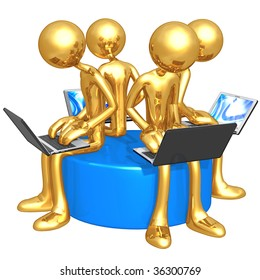 Gold Guy Network Workgroup