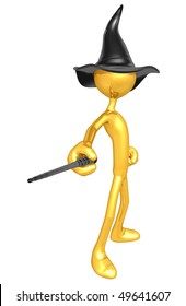 Gold Guy Wizard