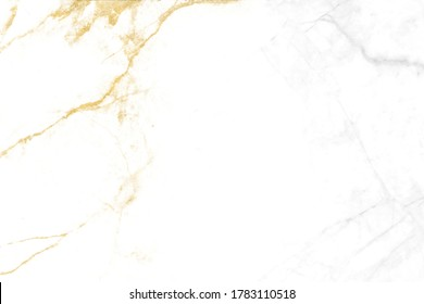 gold line mineral and gray granite white marble luxury interior texture background