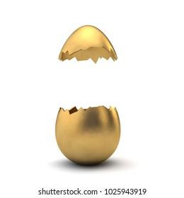 crack open an egg