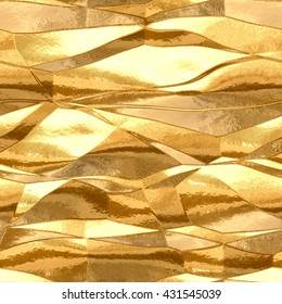 gold metal plate  seamless texture pattern background