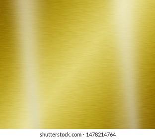 Gold metal texture steel background