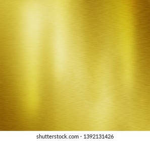Gold metal texture or yellow aluminum surface