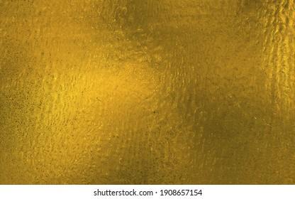 Gold Metallic Textured Background. Golden foil sheet for design or gift wrapper.