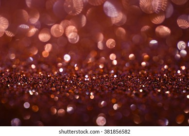 gold pink glitter bokeh texture abstract background