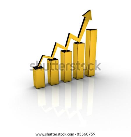 Gold Price Chart Graph Stock Illustration 83560759 Shutterstock