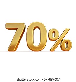 Gold Sale 70%, Gold Percent Off Discount Sign, Sale Banner Template, Special Offer 70% Discount Tag, Golden Seventy Percentages Sign, Gold Sale Symbol, Gold Sticker, Banner, Advertising, Luxury Sale