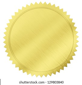 28ffbe39e0f5 gold seal label with clipping path included