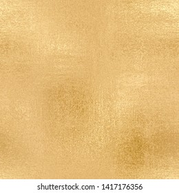 Gold seamless pattern, shiny canvas, glitter vintage background