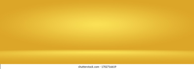 Gold shiny backdrop with variating hues studio background.
