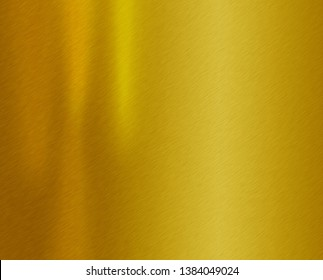 Gold steel plate or yellow metal texture background