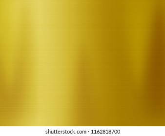 Gold steel texture or yellow metal plate background