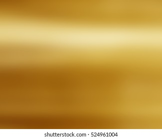 Gold texture pattern. Light realistic, shiny, metallic empty golden gradient template. Abstract metal decoration