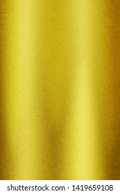 Gold texture steel or yellow metal plate background