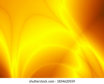 Golden autumn rays art illustration abstract background
