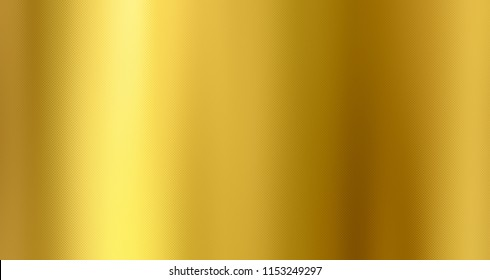 Golden background, Gold foil texture, Metallic gradient sheet, Metal effect.