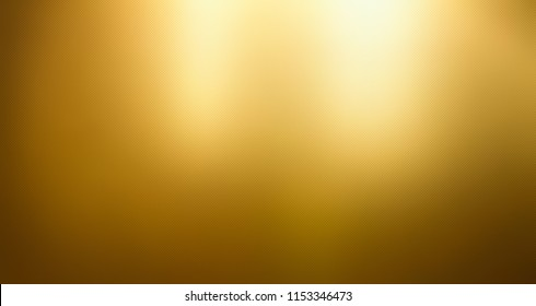 Golden background, Gold foil texture, Metallic gradient sheet, Metal effect.
