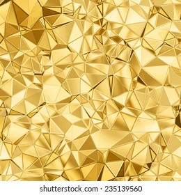 golden beaautiful triangle abstract background for your design