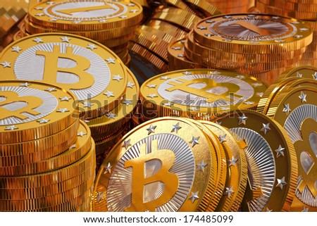 Golden Bitcoins