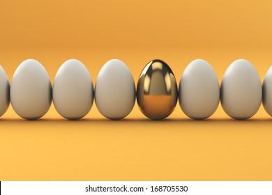 Golden Eggs, finance concept