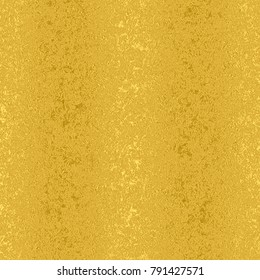 Golden foil seamless pattern, gold texture background