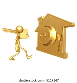 gold house key lock golden house key gold images stock photos vectors shutterstock