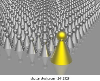 golden leader of management (see more in my portfolio)