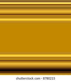 Golden Metal Plate Molding