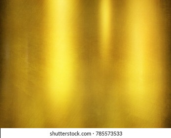 golden metal template.Gold background.
