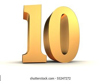 golden number - 10