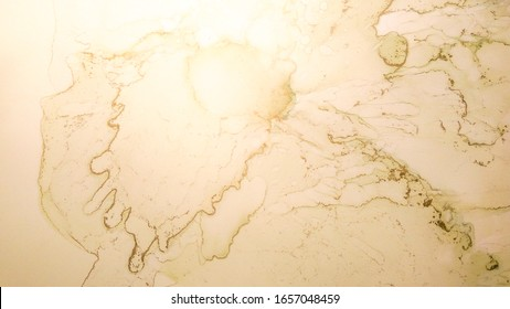 Golden Painting Texture. Wallpaper Painting Oil. Pastel Paint Drop. Pale Onyx. Ink Motion. Vintage Grunge Wall Texture.