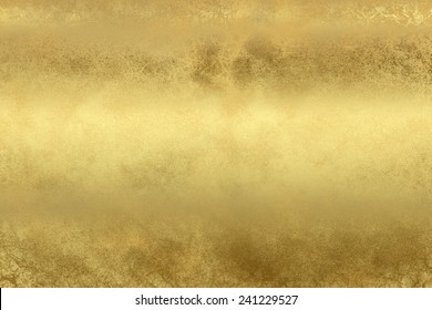 Golden shine abstract  background , with   painted  grunge background texture for  design . Concept  holiday, happiness , color in light .
