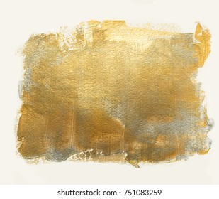Golden silver acrylic background. Element for different design
