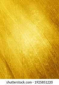 Golden starry glitter background. Gold glitter lights