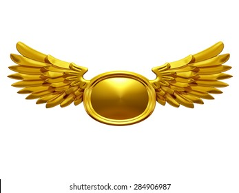 golden wing insignia