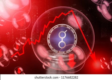 Golem (GNT) in a soap bubble. Risks and dangers of investing to golem. Collapse of the exchange rate. Unstable concept