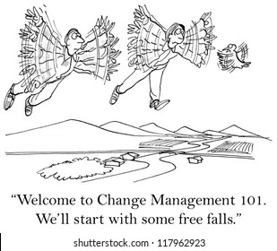 """Good morning, welcome to Change Management 101."""