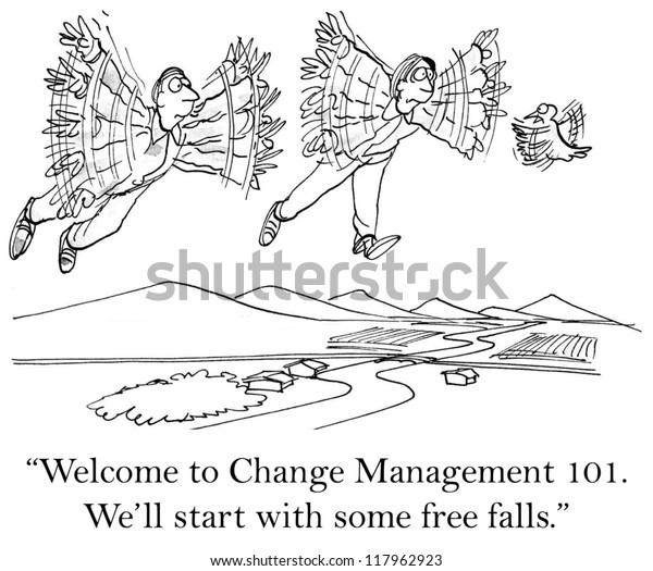 """""""Guten Morgen, willkommen bei Change Management 101."""""""