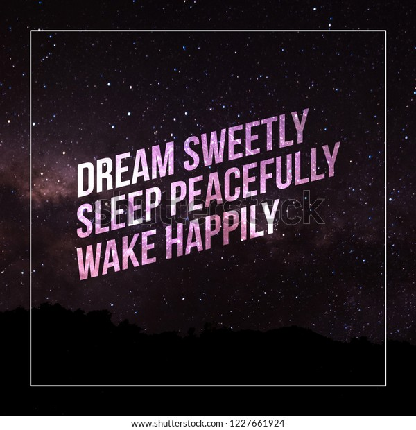 Good Night Quotes Charming Images These Stock Illustration 1227661924