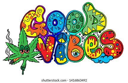 Graffiti Cannabis Images Stock Photos Vectors Shutterstock