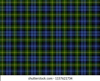 Gordon Clan - Realistic Seamless Pattern - Scottish Tartans by Clan