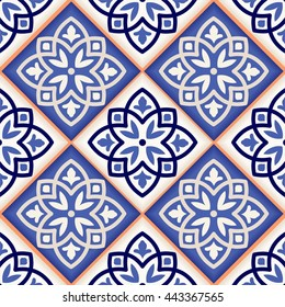 Gorgeous seamless patchwork pattern from colorful Moroccan tiles, ornaments. Can be used for wallpaper, pattern fills, web page background,surface textures.