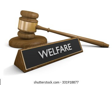 Government laws on welfare and financial aid