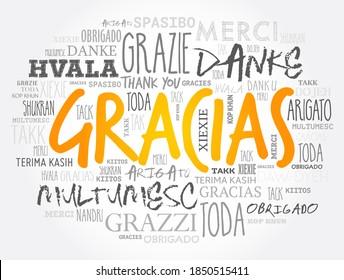 Gracias Varios Idiomas Imágenes Fotos De Stock Y Vectores Shutterstock